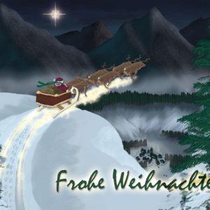 CGW Weihnachtskarte von Sascha Hübner