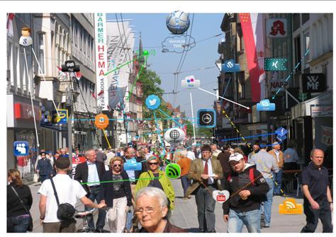 Der digitale Hauptstraßenzug Neuss-City (Neuss Marketing)
