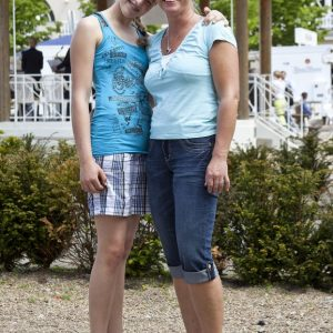 Foto vom Ladies Day 2012 auf der Gallopprennbahn in Krefeld