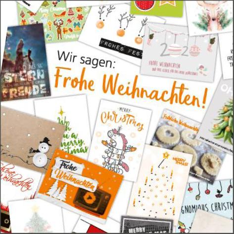 CGW Weihnachtskarten
