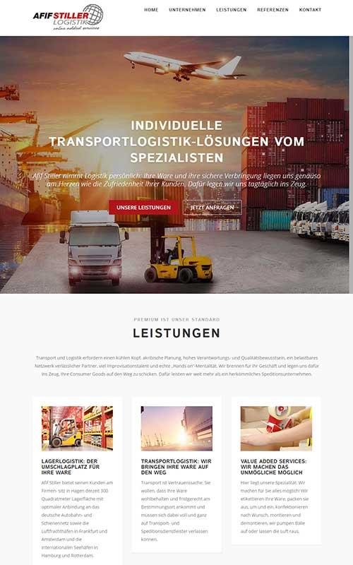 CGW Arbeitsbeispiel Afif Stiller Logistik