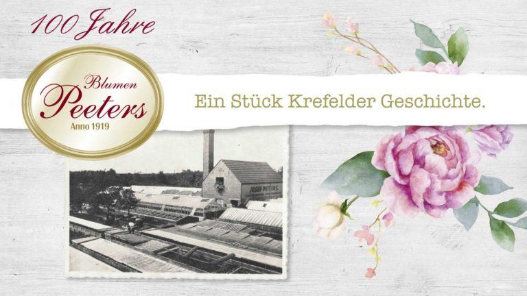 100 Jahre Blumen Peeters – Jubiläumsfilm mit Interview