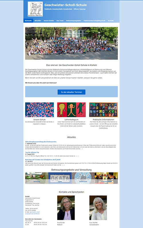 CGW Charity Beispiel Geschwister Scholl Schule