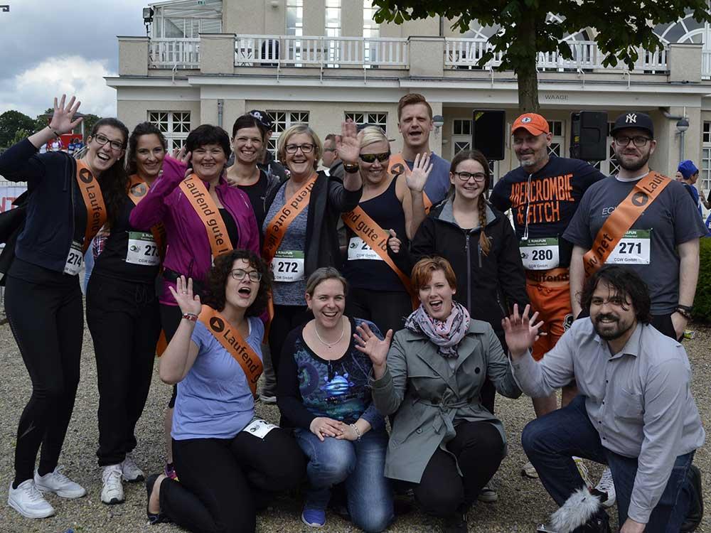CGW wieder am Start beim Run & Fun Krefelder Firmenlauf