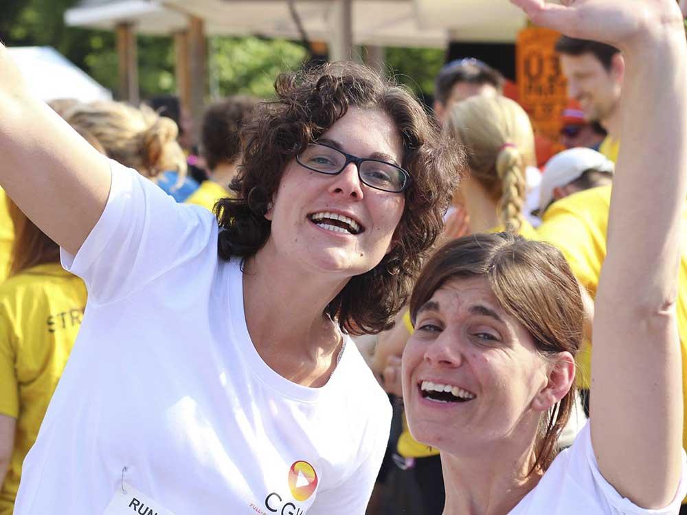 Erste Teilnahme am Run & Fun Krefelder Firmenlauf