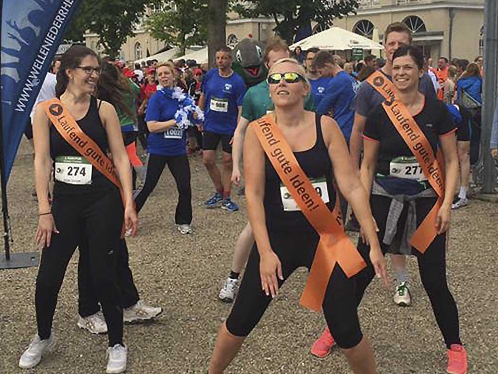 2. Teilnahme am Run & Fun Krefelder Firmenlauf