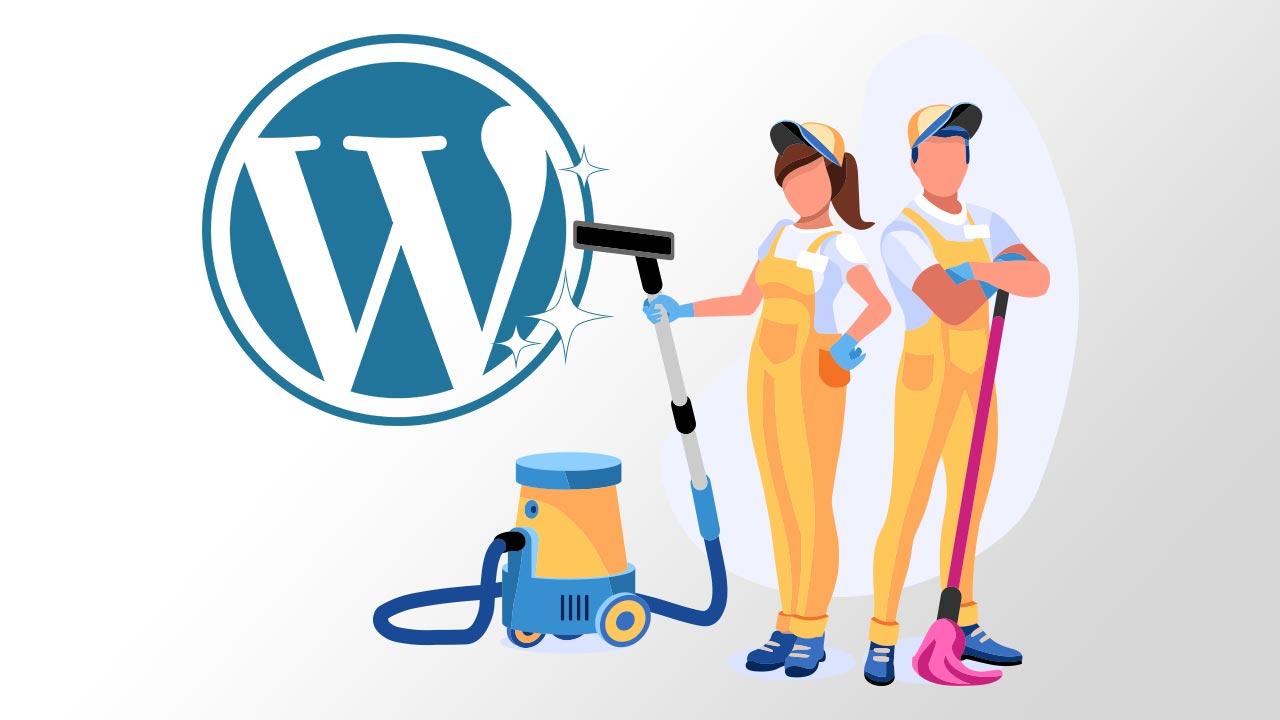 Der digitale WordPress-Frühjahrsputz in 4 einfachen Schritten