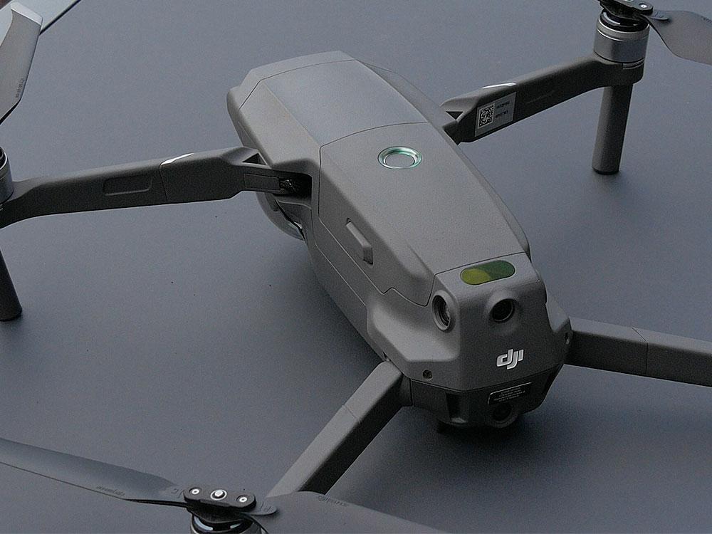 In Startposition: die CGW Drohne