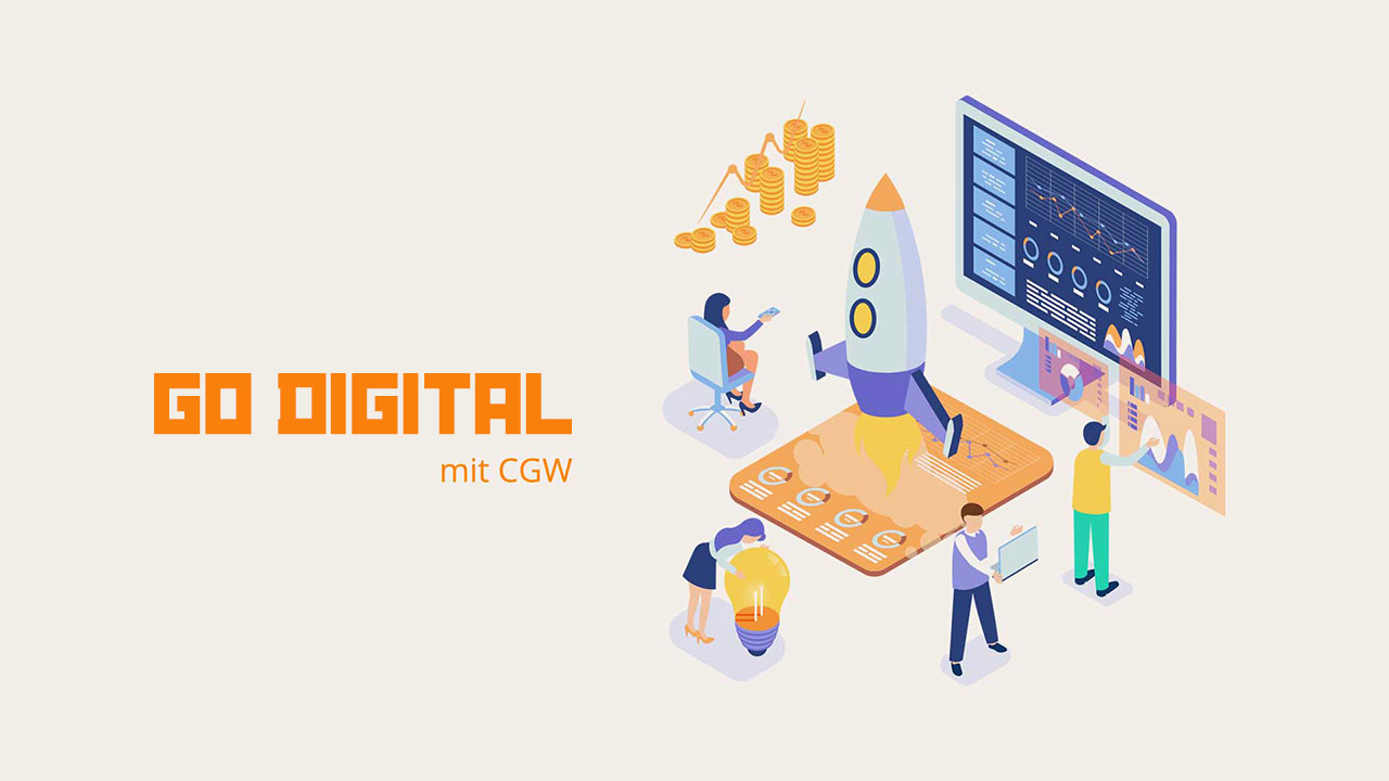 CGW ist autorisiertes Beratungsunternehmen im Förderprogramm go-digital