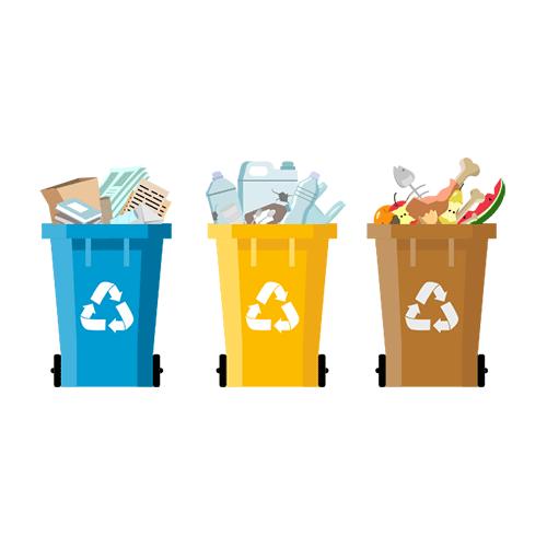CGW Nachhaltigkeit: Mülltrennung
