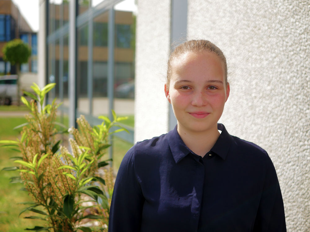 CGW Praktikantin - Lena Krücken