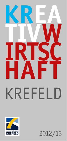 Cover des Kreativatlas Krefeld