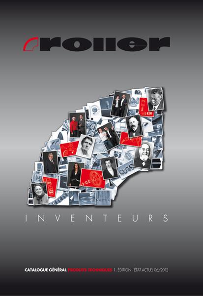 Cover des Gesamtkatalog Roller