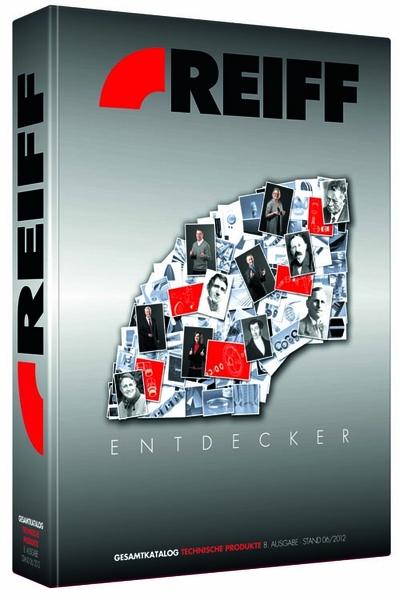 Cover der 8. Aflage des Gesamtkatalogs REIFF Technische Produkte