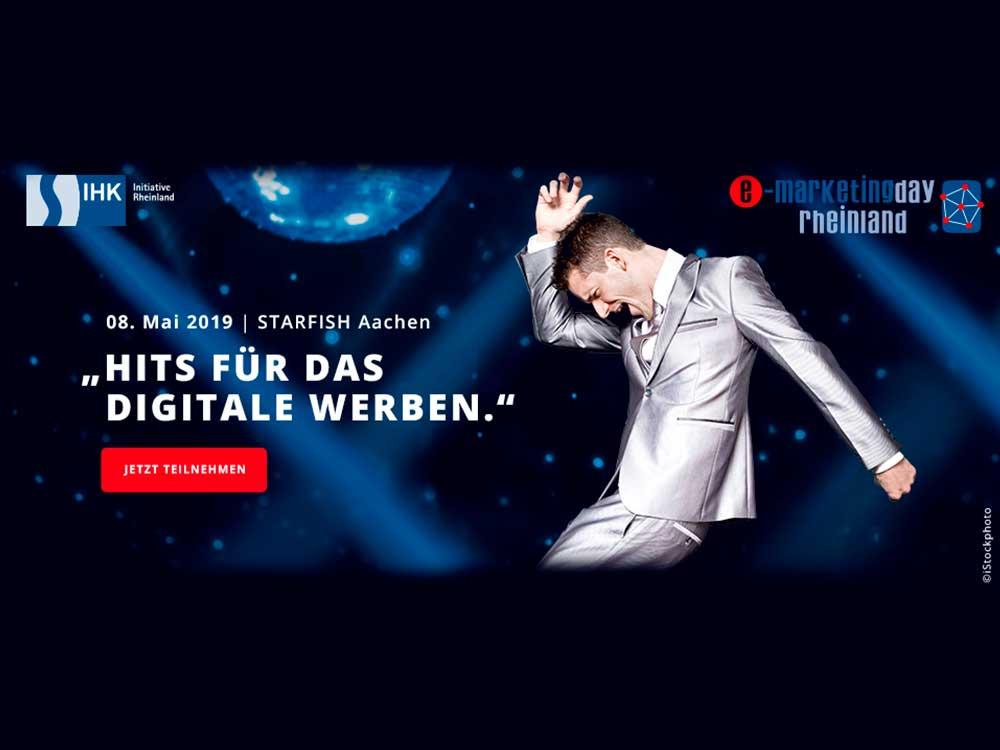 Hits für das digitale Werben! - CGW beim e-Marketingday Rheinland 2019