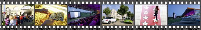 Eindrücke vom SWK Open-Air-Kino in Krefeld