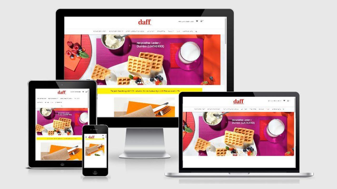 Daff Webseite