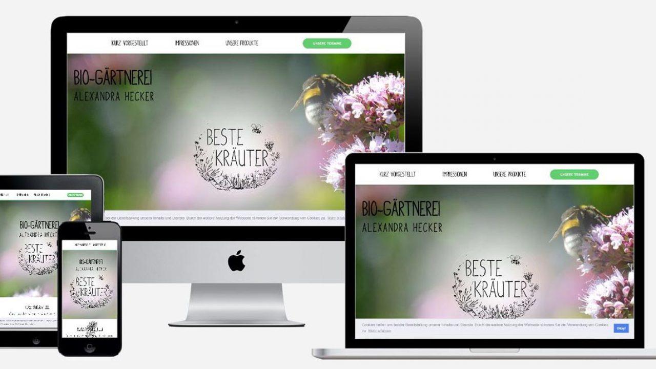Beste Kräuter Webseite