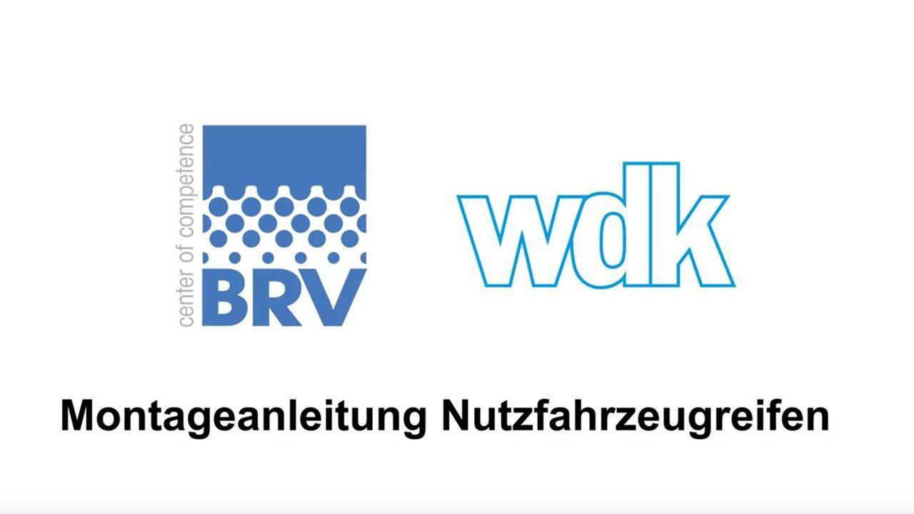 BRV/wdk Montageanleitung Nutzfahrzeugreifen YouTube Thumbnail