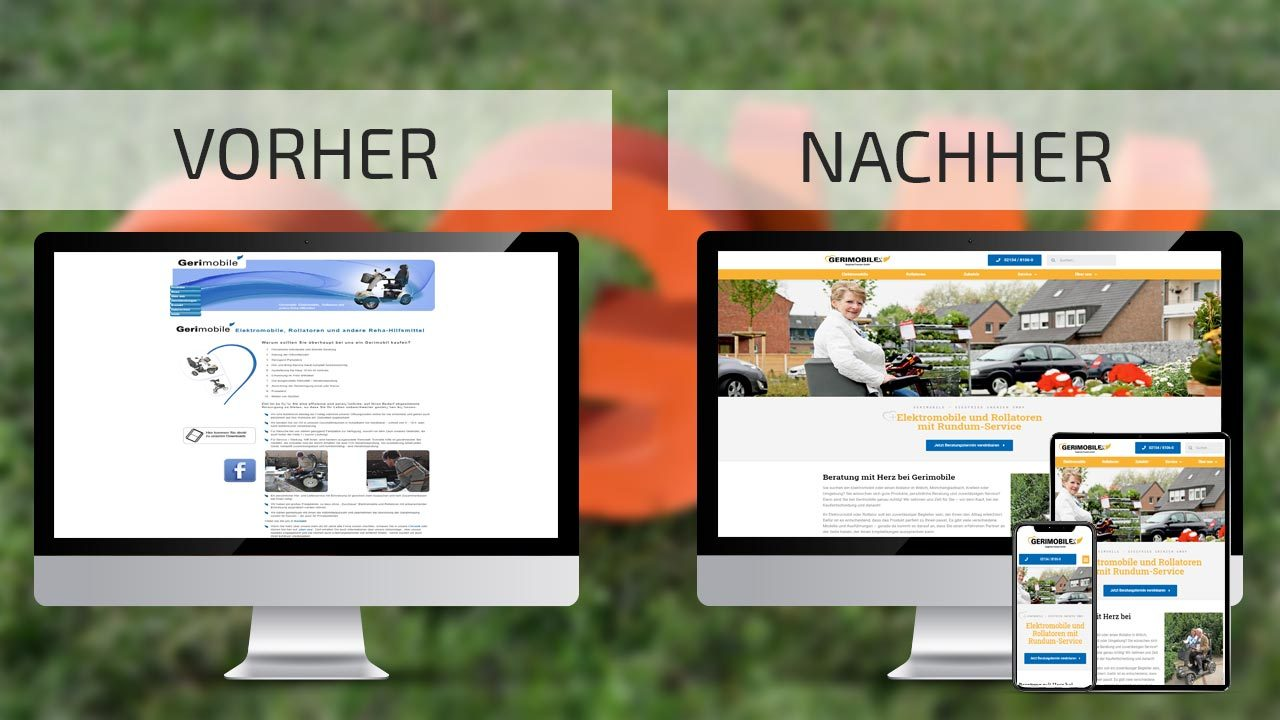 Website-Relaunch Gerimobile.de