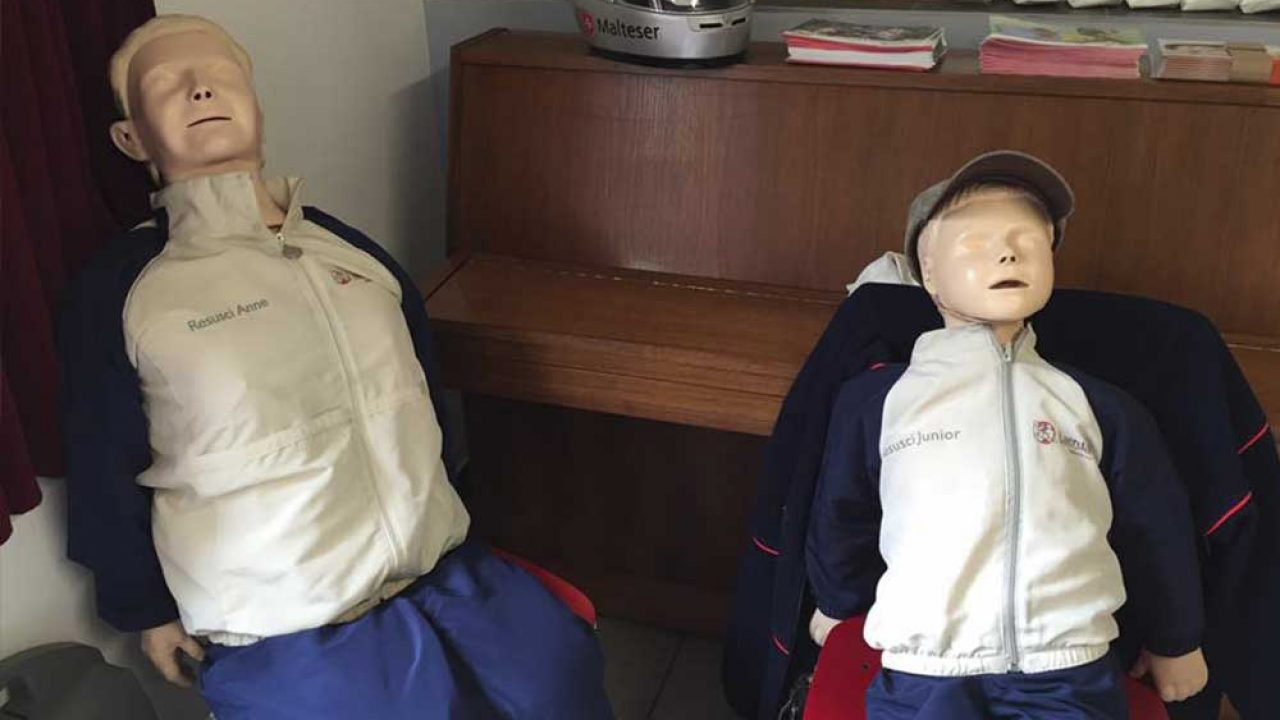Erste-Hilfe Kurs Teil 2 mit den Maltesern Krefeld