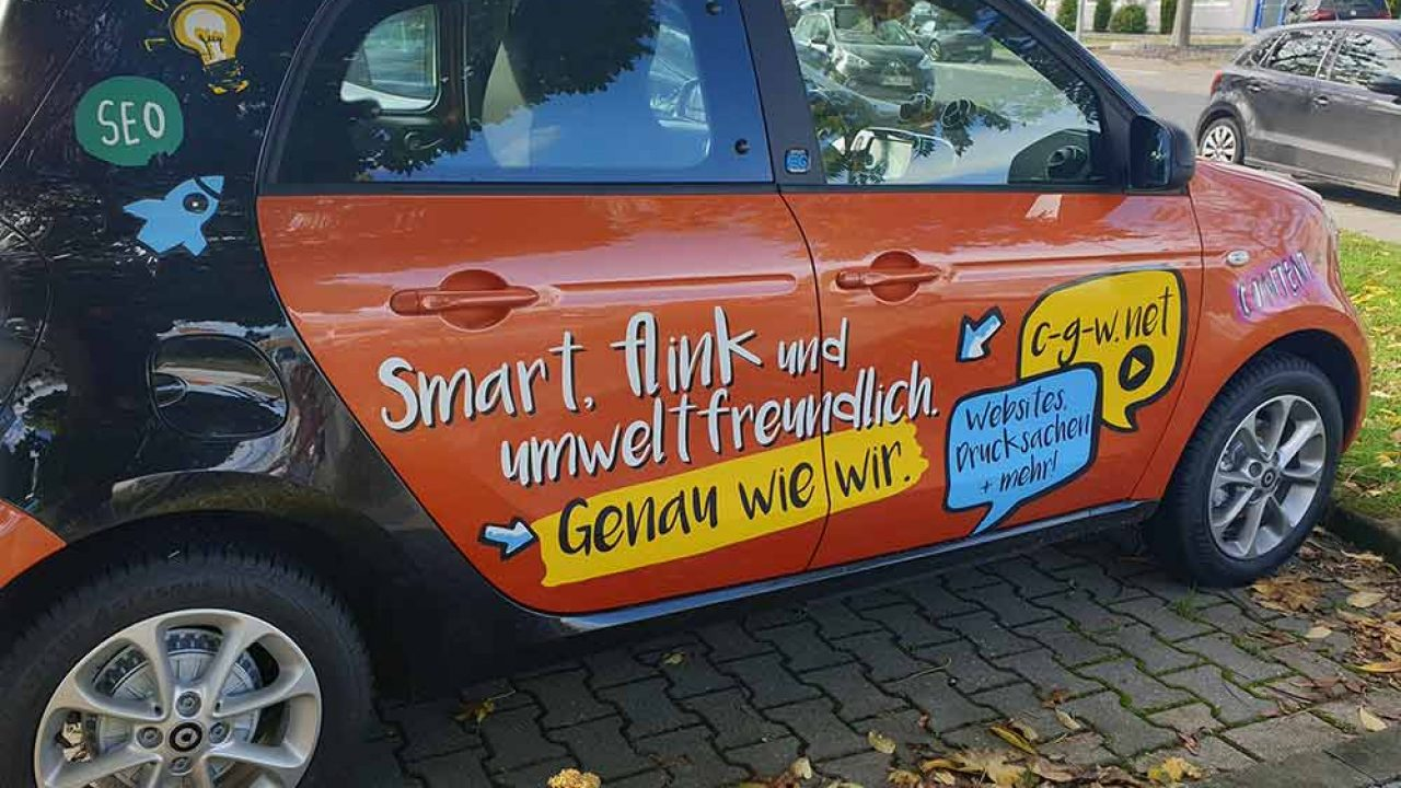 CGW E-Smart Firmenauto