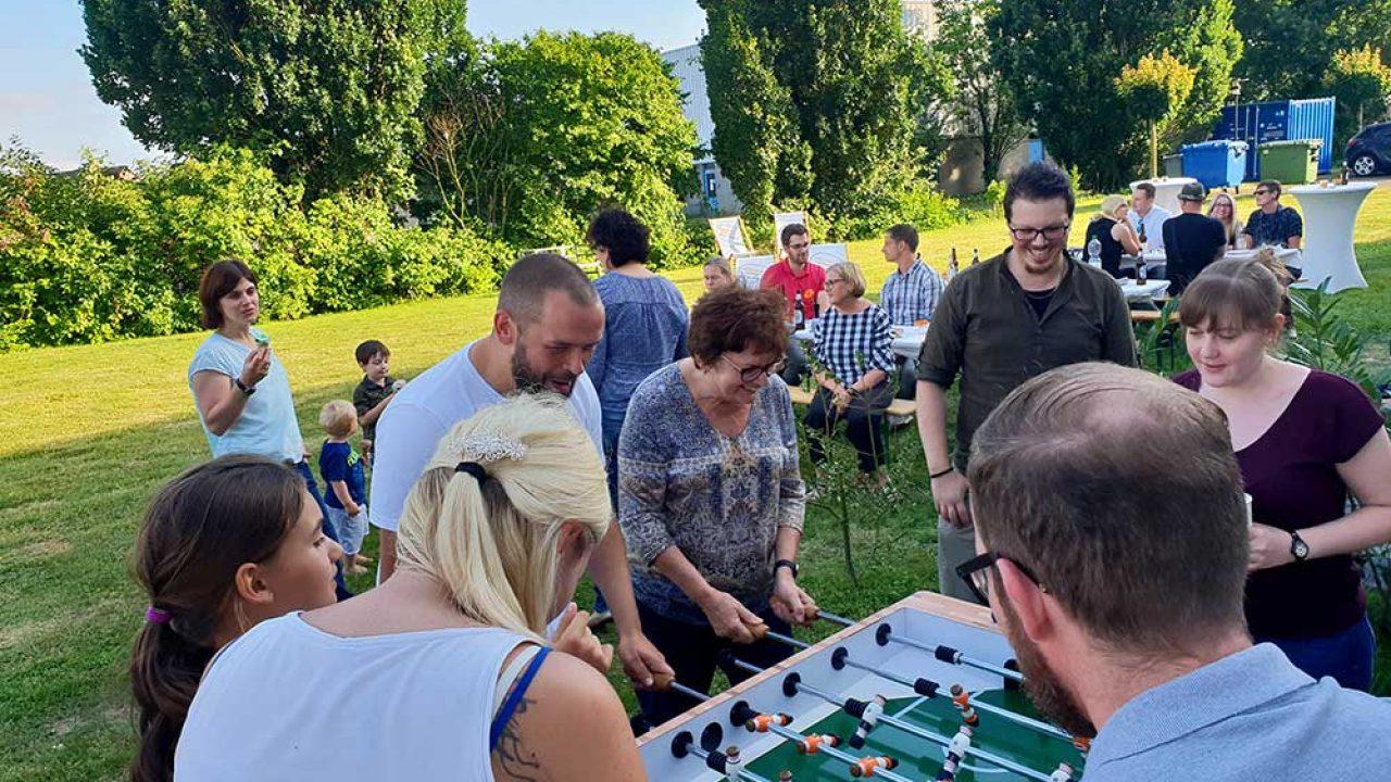 Heimspiel 2018: WM-Sommerfest mit Kind & Kegel – mit Torwandschießen und Kicker