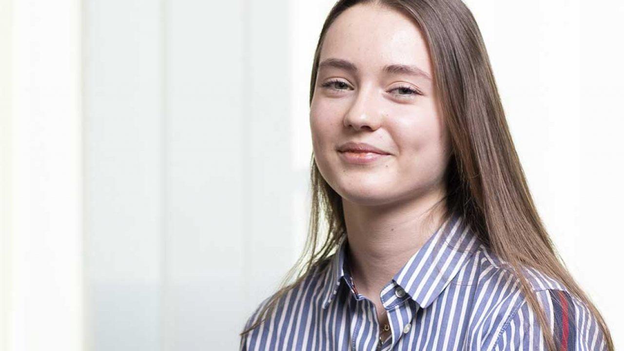 CGW Praktikantin - Sarah Prahl