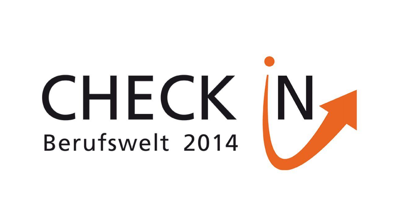 Logo zum Check In Berufswelt 2014
