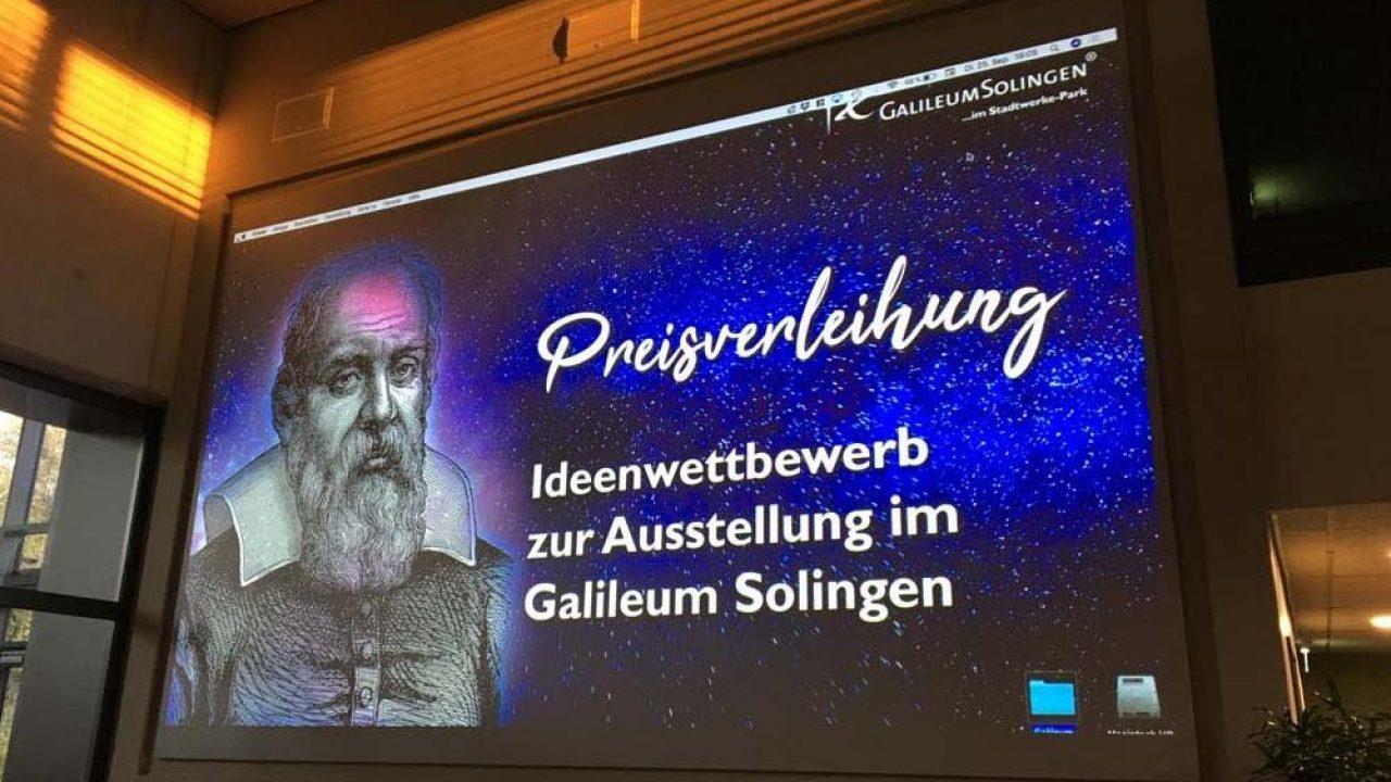 Galileum Solingen – Eröffnungstermin und Preisverleihung zum Ausstellungswettbewerb
