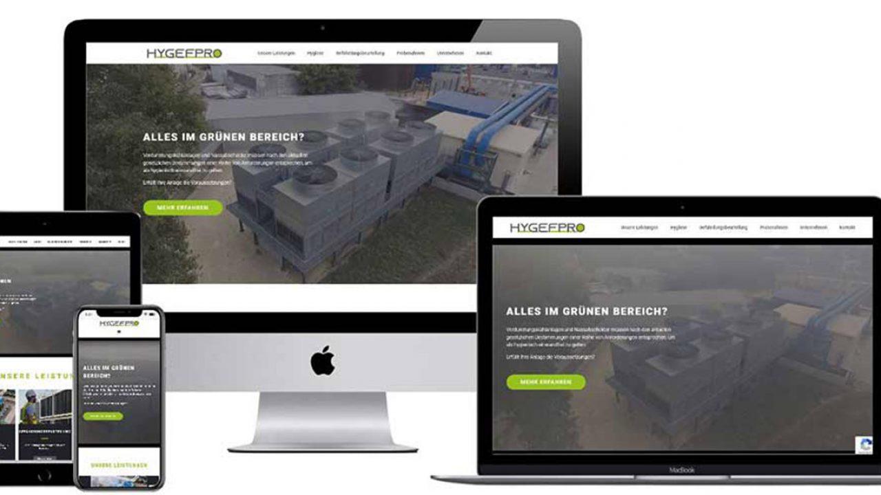 Hygefpro Webseite
