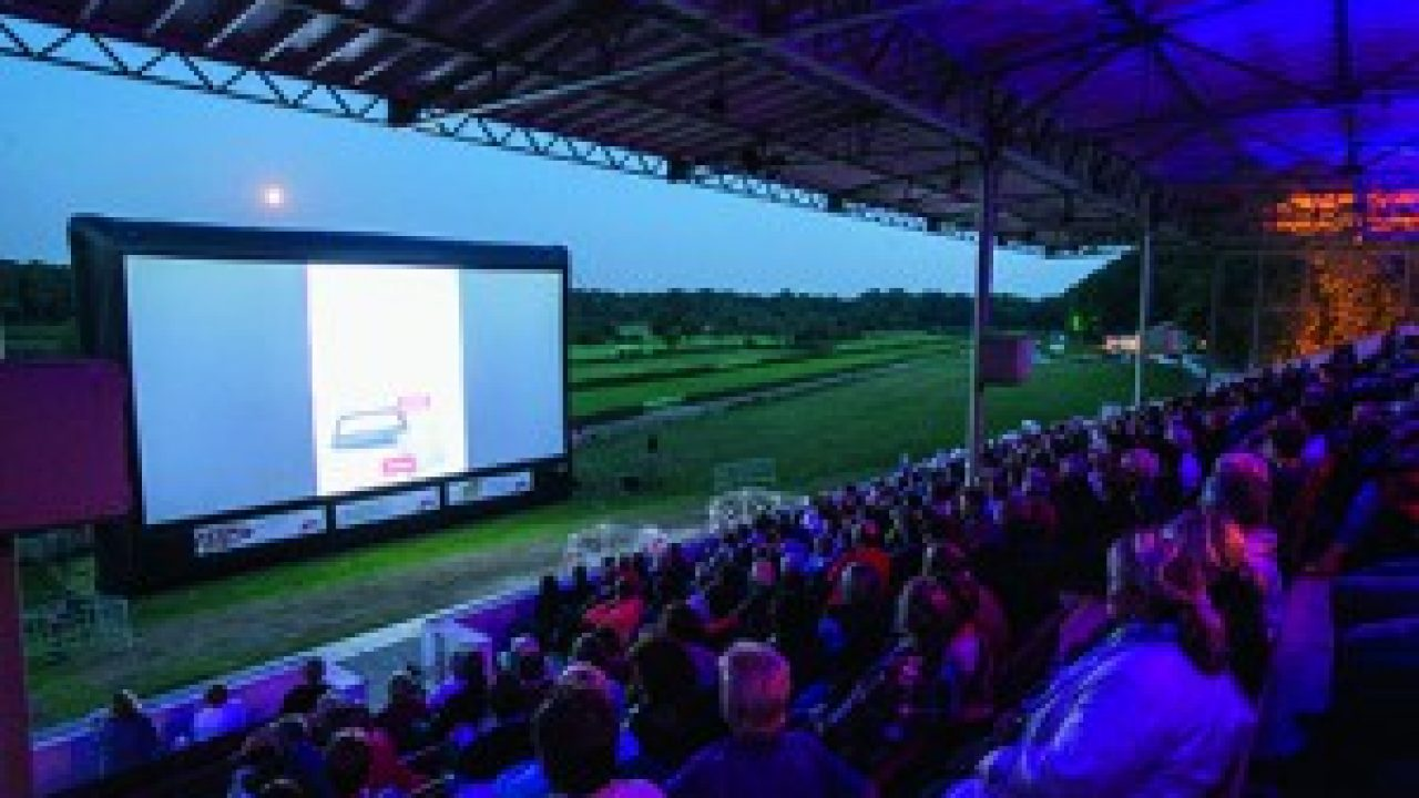 Kinoabend an der Krefelder Rennbahn