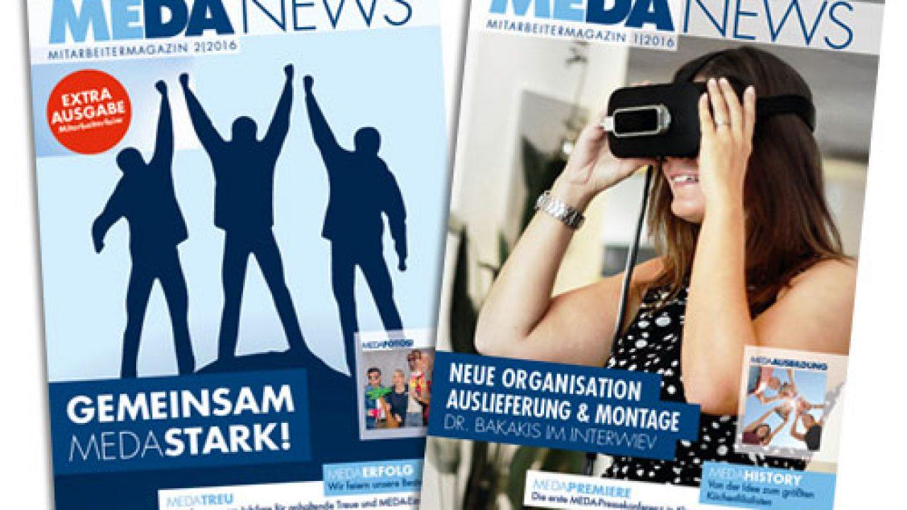 MEDA Küchen Mitarbeitermagazine