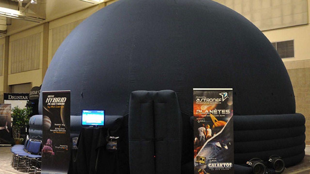 Keyvisual des Galileum Solingen|Das mobile Planetarium des Galileum Solingen