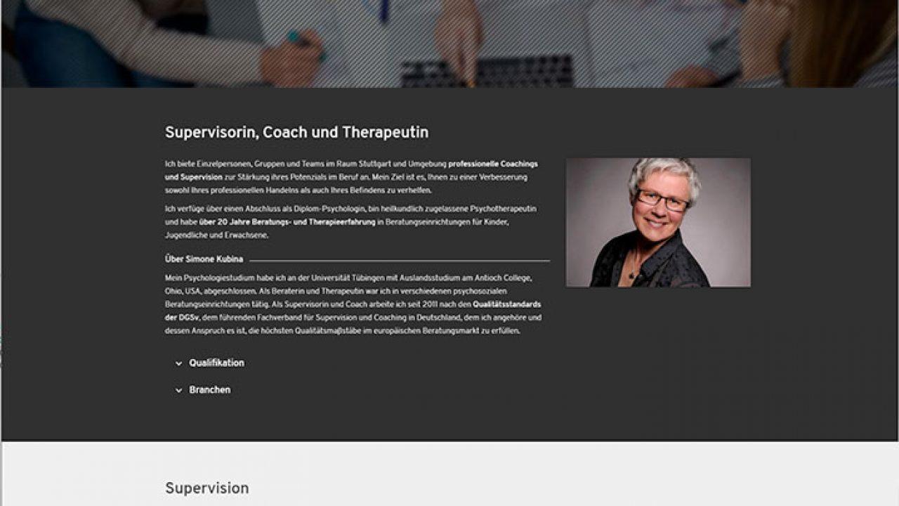 Supervision Kubina - Internetseite|portfolio_-_supervision_kubina