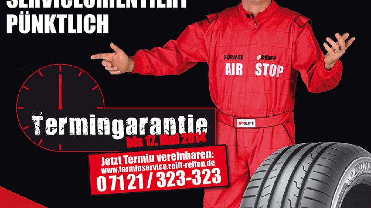 Titelseite der Zeitungsbeilage für REIFF Reifen und Autotechnik 01/2014