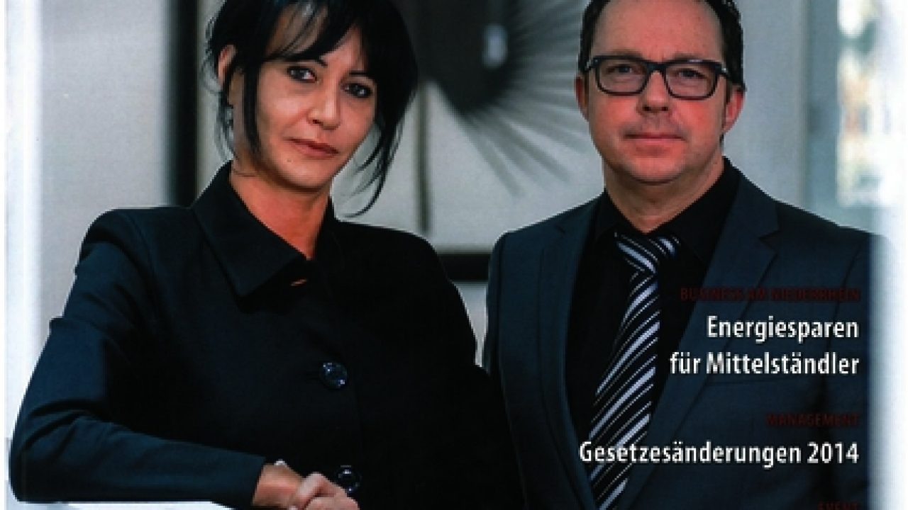 Titelbild der Sonderausgabe des Niederrhein Managers