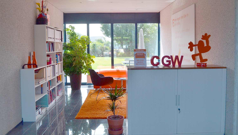 Ganz besondere Einblicke in die CGW GmbH|foyer|ideenecke|post-it-board||terasse|schreibtisch-marvin|schreibtisch-luna||kueche|konferenzraum|ideenecke||foyer
