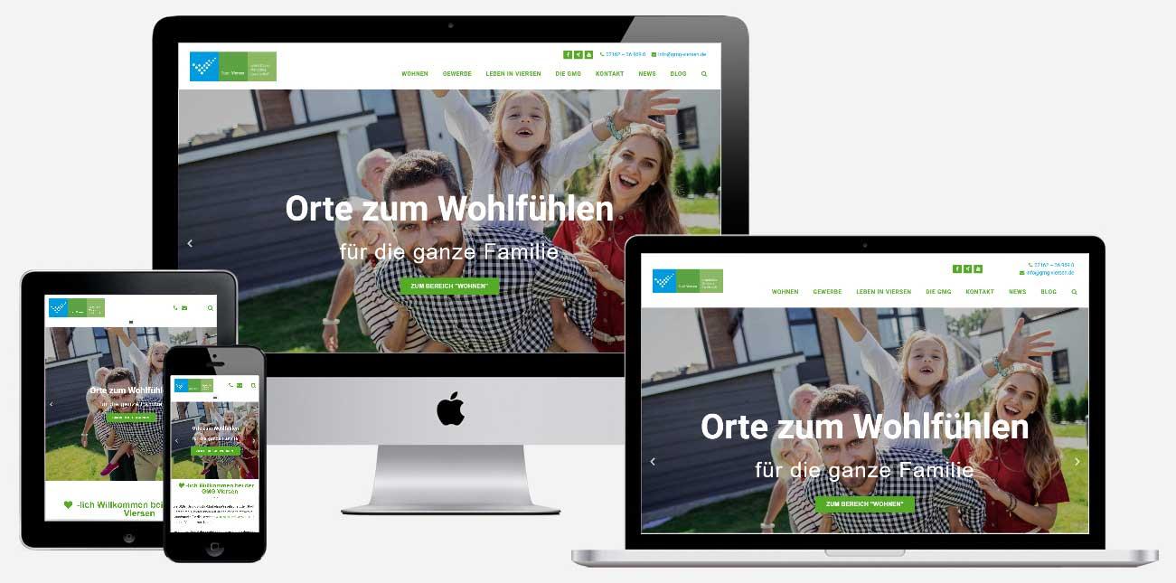 GMG Viersen Web-Auftritt