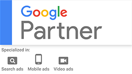 Google Partner Logo - Search - Mobile - Video