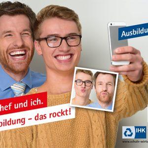 """IHK Großflächenkampagne """"Jetzt ausbilden"""" Motiv 3"""