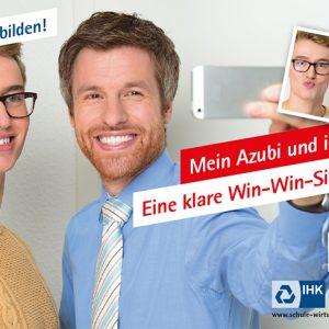"""IHK Großflächenkampagne """"Jetzt ausbilden"""" Motiv 4"""