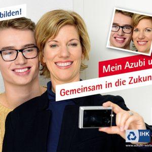 """IHK Großflächenkampagne """"Jetzt ausbilden"""" Motiv 8"""
