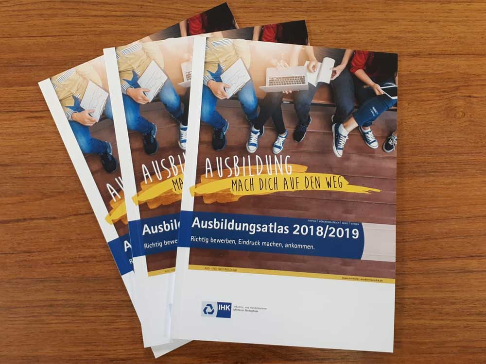 IHK Ausbildungsatlas 2018/2019 cover