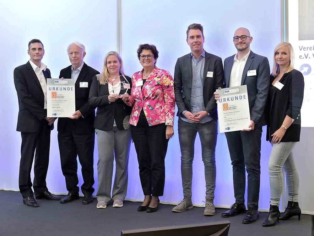 Die CGW als Preisträger beim IHK@ward 2019