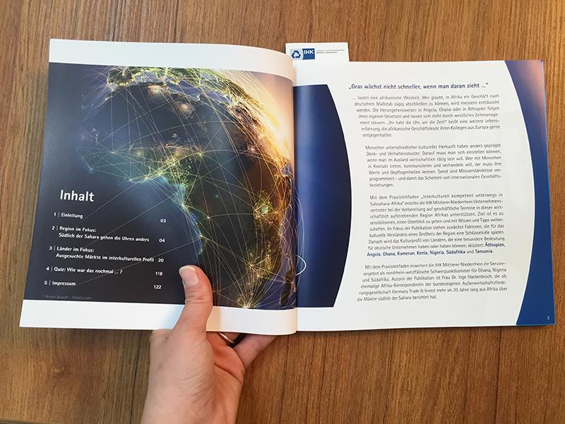 IHK-Broschüre rund um ausgesuchte Kulturen in Subsahara-Afrika|IHK-Broschüre rund um ausgesuchte Kulturen in Subsahara-Afrika