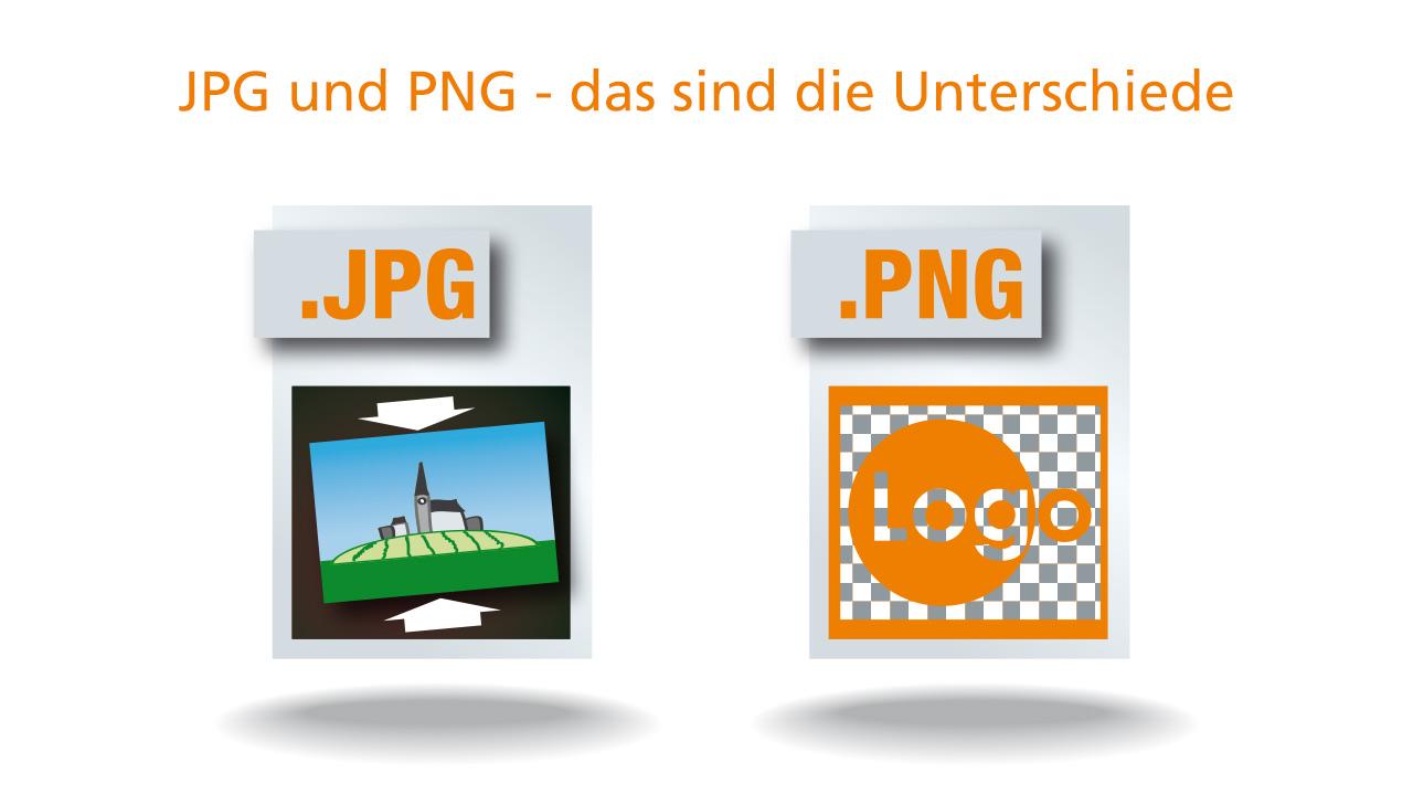 JPG und PNG - das sind die Unterschiede
