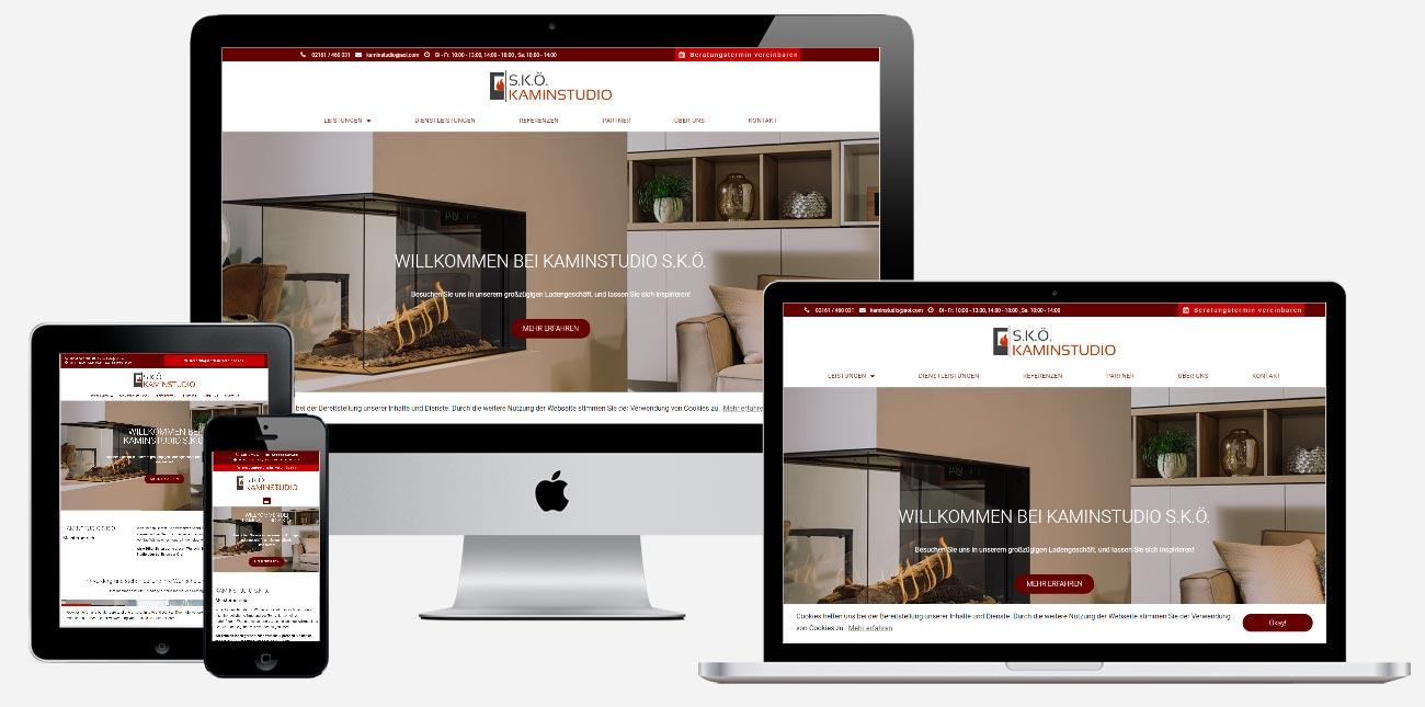 Kaminstudio S.K.Ö. Webseite