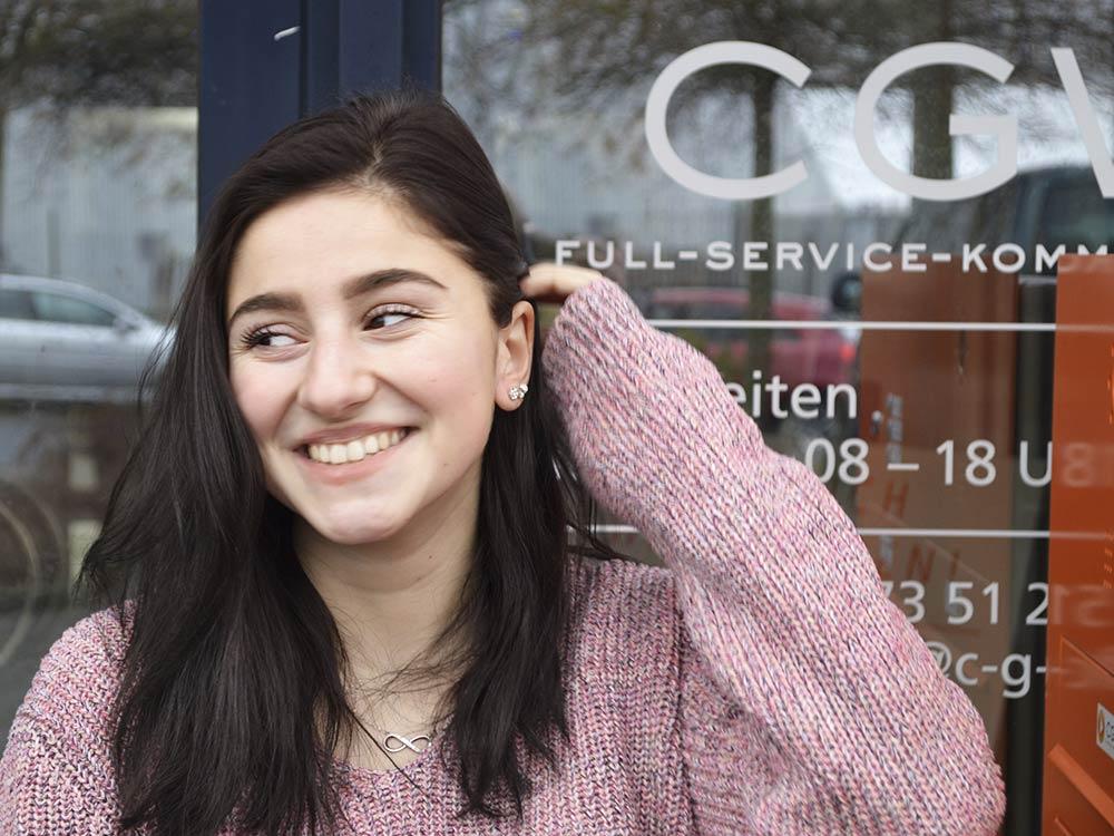 Lea Krämer, CGW Schüler Praktikantin