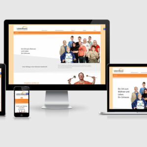Website-Relaunch für LebensRäume Duisburg